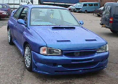 Full WRC/Cosworth kit for Mk4 Escort