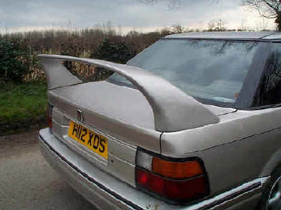 EVO spoiler for Rover 400